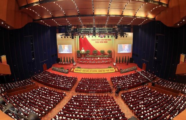 Hình ảnh ngày làm việc thứ ba của Đại hội Đảng - Ảnh 14.