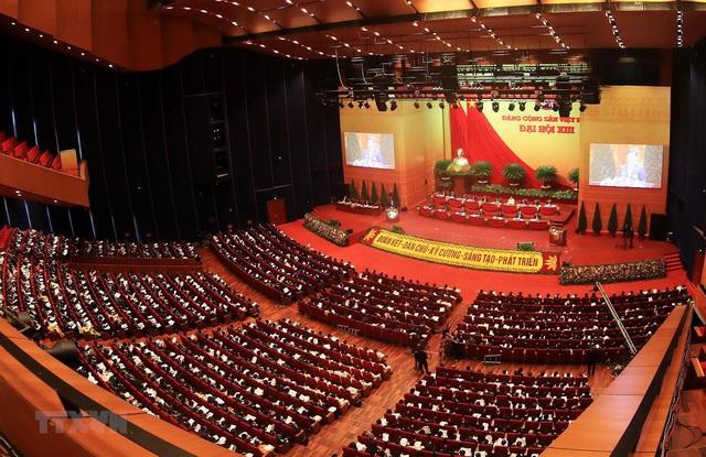 Hình ảnh ngày làm việc thứ ba của Đại hội Đảng - Ảnh 15.