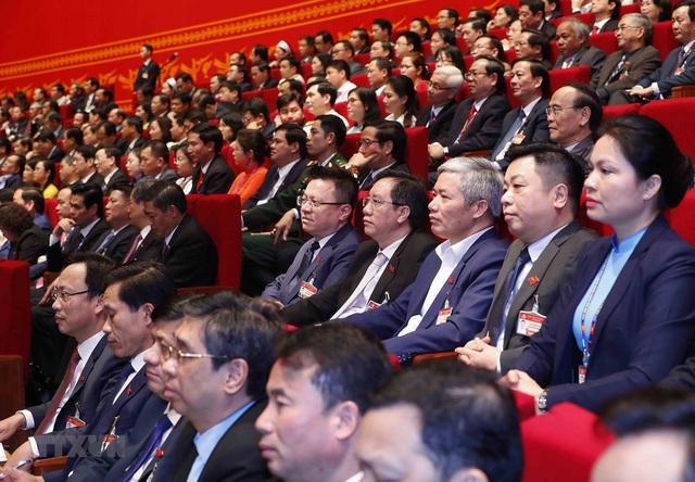 Hình ảnh ngày làm việc thứ ba của Đại hội Đảng - Ảnh 7.