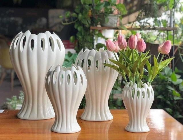 وسایل داغ برای این سال نو: گلدان گل از دست بودا زیبا است - عکس 2.