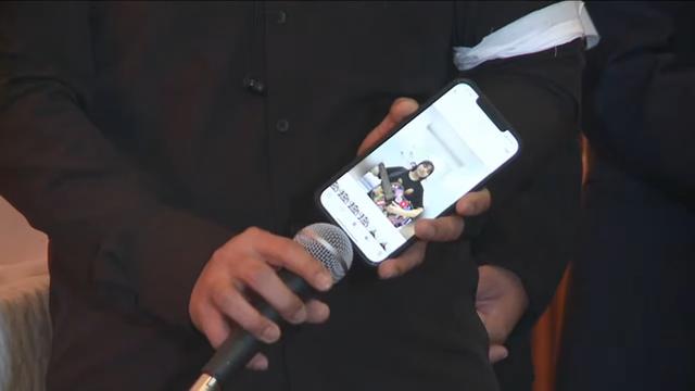 وقتی هان تای تو ویدئویی از دختر وان کوانگ لانگ منتشر کرد ، که آخرین بار برای خداحافظی از پدرش اشک ریخت ، عکس 2.