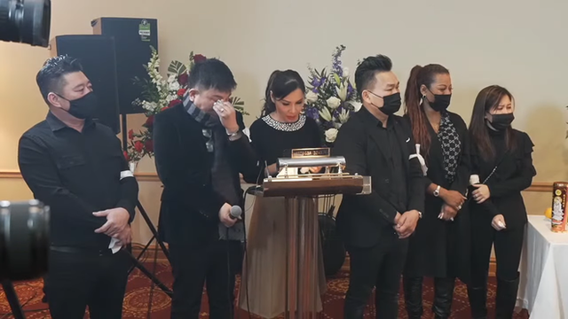 وقتی هان تای تو ویدئویی از دختر وانگ کوانگ لانگ ، آخرین بار خداحافظی با پدرش ، اشک ریخت ، عکس 4.