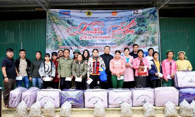 Báo Gia đình và Xã hội tổ chức Chương trình Xuân ấm biên cương đến người dân vùng núi - Ảnh 6.