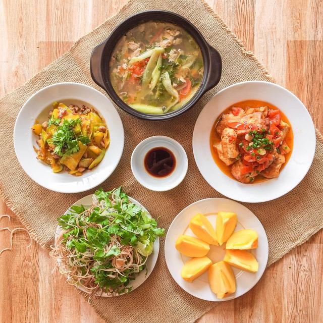 یک سینی برنج بیش از 200000 VND در هر وعده غذایی برای 6 نفر نیست ، چه خوشمزه و چه زیبا ، همه باید تعارف و گریه کنند - عکس 7.