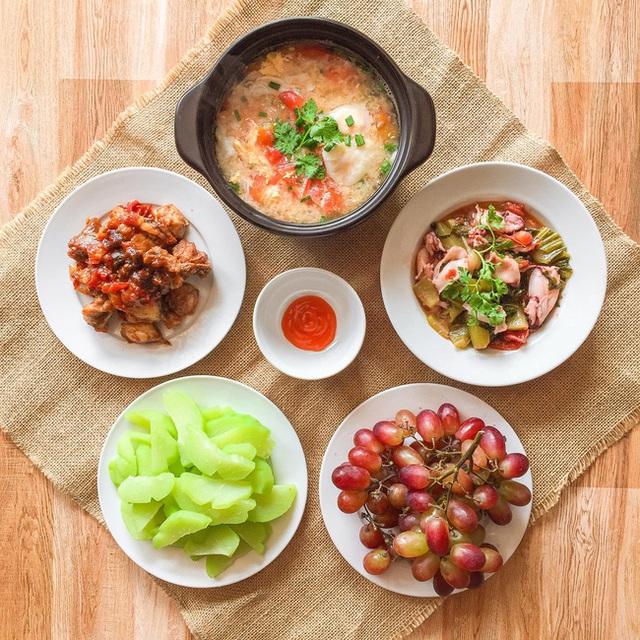 یک سینی برنج برای هر وعده غذایی برای 6 نفر بیش از 200000 VND نیست ، چه خوشمزه و چه زیبا ، همه باید تعارف و گریه کنند - عکس 8.