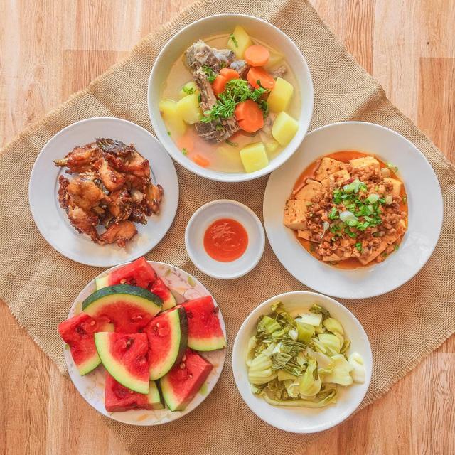 یک سینی برنج بیش از 200000 VND در هر وعده غذایی برای 6 نفر که هم خوشمزه و هم زیبا هستند ، همه باید تعریف کنند - عکس 9.