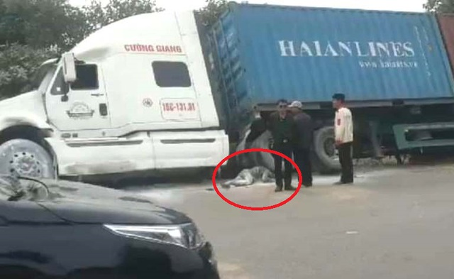Hai Duong: برخورد با کانتینر ، راننده موتور سیکلت می میرد - عکس 1.