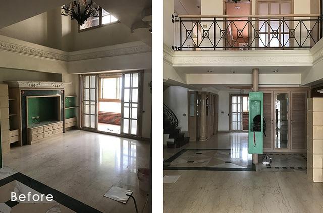 خانه شهر 3 طبقه پس از بازسازی جادار ، بدون پارتیشن برای 5 عضو برای زندگی شاد در کنار هم - عکس 5.