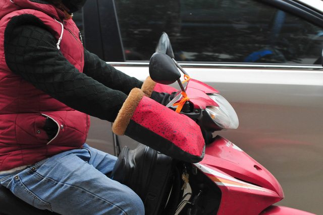 لباس های ویژه هانوی در اولین روز ثبت هوای سرد - عکس 6.
