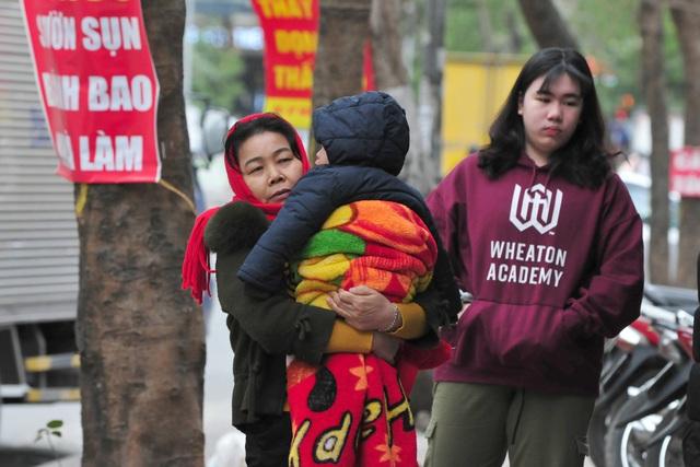 لباس های ویژه هانوی در اولین روز ثبت هوای سرد - عکس 2.