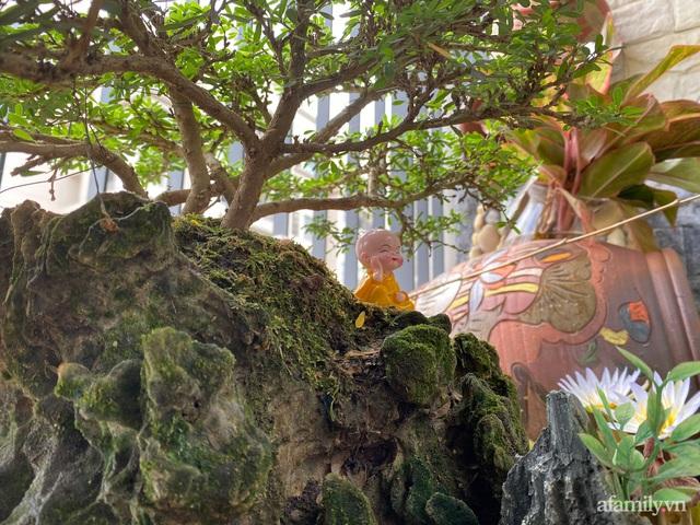 Khu vườn nhỏ thư giãn, tĩnh lặng trên ban công với view hồ lãng mạn của gia đình giám đốc trẻ ở Hà Nội - Ảnh 14.
