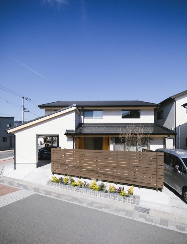 خانه ای چوبی ساخته شده در معماری ژاپن با 1 طبقه همکف و 1 آرامش در فضای متوسط برای خانواده های جوان - عکس 3.
