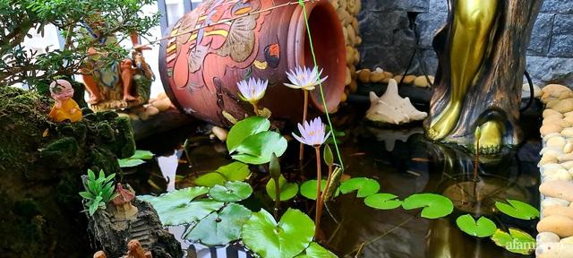Khu vườn nhỏ thư giãn, tĩnh lặng trên ban công với view hồ lãng mạn của gia đình giám đốc trẻ ở Hà Nội - Ảnh 26.