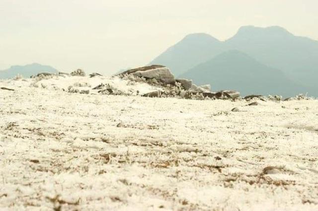 منطقه مرزی Bình Liêu زیبا و مسحور شده در یخ و برف است - عکس 2.