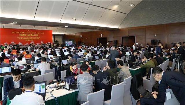 Báo chí đóng góp vào thành công của Đại hội ĐảngXIII  - Ảnh 2.