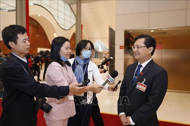 Báo chí đóng góp vào thành công của Đại hội ĐảngXIII  - Ảnh 4.