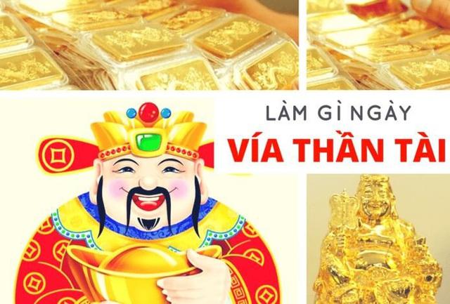 Ngày vía Thần Tài không nhất thiết phải mua vàng mà có nhiều cách để cầu may - Ảnh 3.