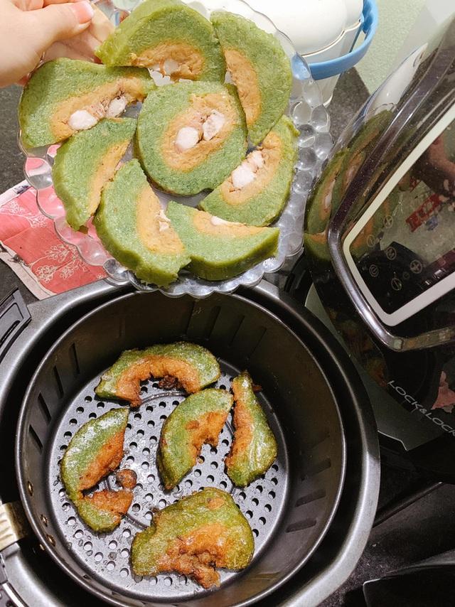 Nhà còn nhiều bánh chưng, các chị em làm theo cách này là có món bánh chưng rán giòn tan lại nhàn tênh - Ảnh 20.