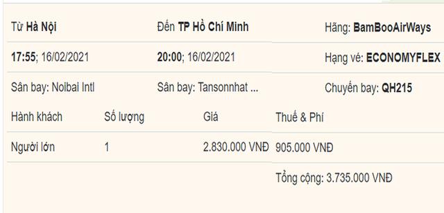 Giá vé máy bay Tết rẻ kỷ lục, đường bay TP.HCM – Hà Nội giảm giá bất ngờ - Ảnh 2.
