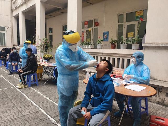 Hà Nội xét nghiệm SARS-CoV-2 miễn phí cho tân binh nhập ngũ - Ảnh 5.