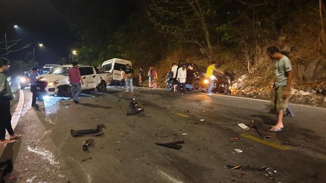 Tai nạn kinh hoàng trên đèo Bảo Lộc  - Ảnh 1.