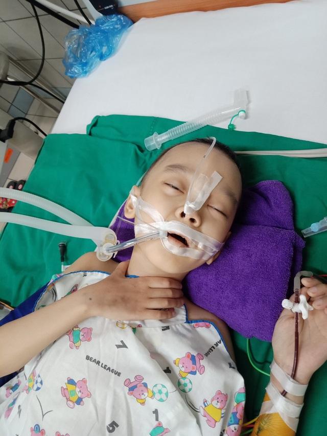 Bé trai 8 tuổi bị ung thư máu mong một cái Tết trọn vẹn - Ảnh 3.