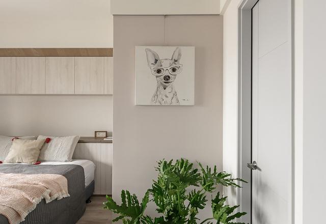 Bất ngờ với diện tích 42m², căn hộ sau cải tạo vẫn đầy đủ công năng và tiện ích - Ảnh 13.
