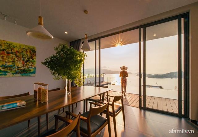 Ngôi nhà hướng biển đẹp lịm tim với bể bơi vô cực ở Nha Trang - Ảnh 18.