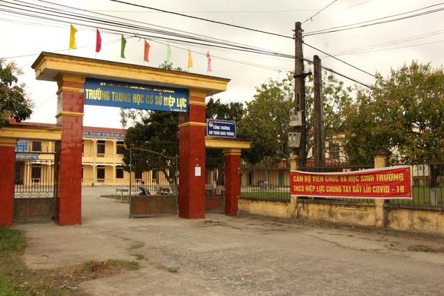 Hải Dương: Xuất hiện trường hợp F1, một xã ở huyện Ninh Giang cho học sinh tạm thời nghỉ học - Ảnh 4.