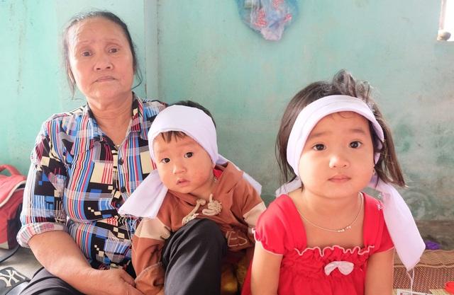Xót xa gia cảnh 2 đứa trẻ có bố mất do tai nạn giao thông, mẹ bị tim bẩm sinh, ốm yếu - Ảnh 2.