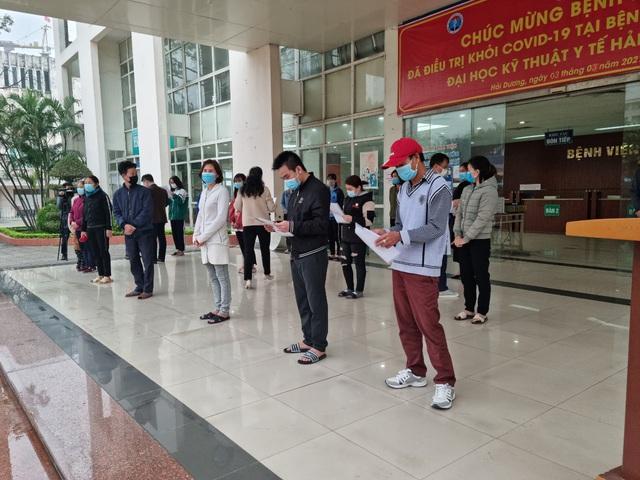 TIN VUI: Bệnh viện Dã chiến số 2 công bố 24 bệnh nhân khỏi COVID-19 - Ảnh 3.