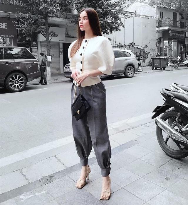 Dáng chuẩn người mẫu, cân được muôn kiểu quần dài nhưng chân ái thực sự của Hồ Ngọc Hà chỉ có 4 kiểu sau - Ảnh 15.