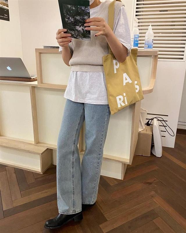 Làm mới loạt items cũ trong tủ đồ bằng 12 công thức mix&match xinh tươi, trendy của hội gái Hàn - Ảnh 7.