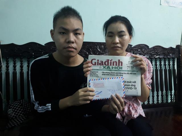 Hai chị em người mù lòa, người mang bệnh ung thư nhận được sự quan tâm của bạn đọc - Ảnh 2.