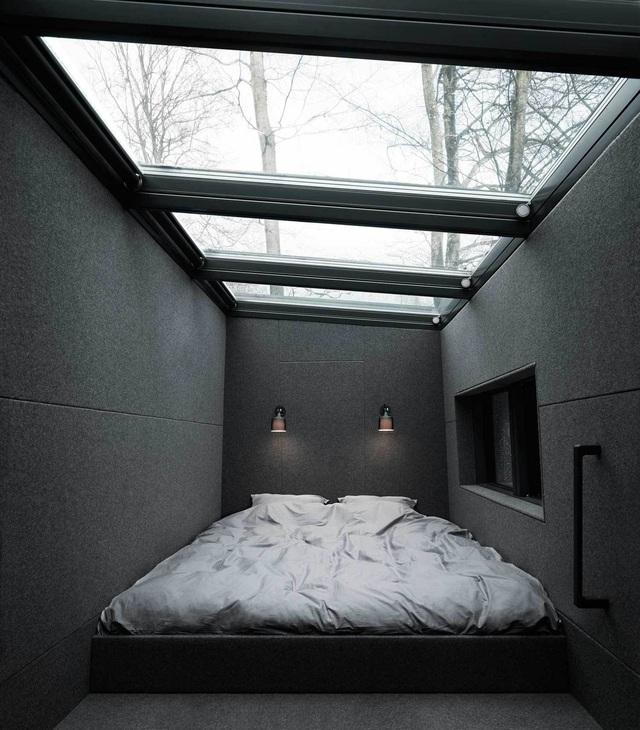 13 gợi ý thiết kế tường kính cho phòng ngủ để hưởng trọn tầm nhìn tuyệt đẹp bên ngoài - Ảnh 13.