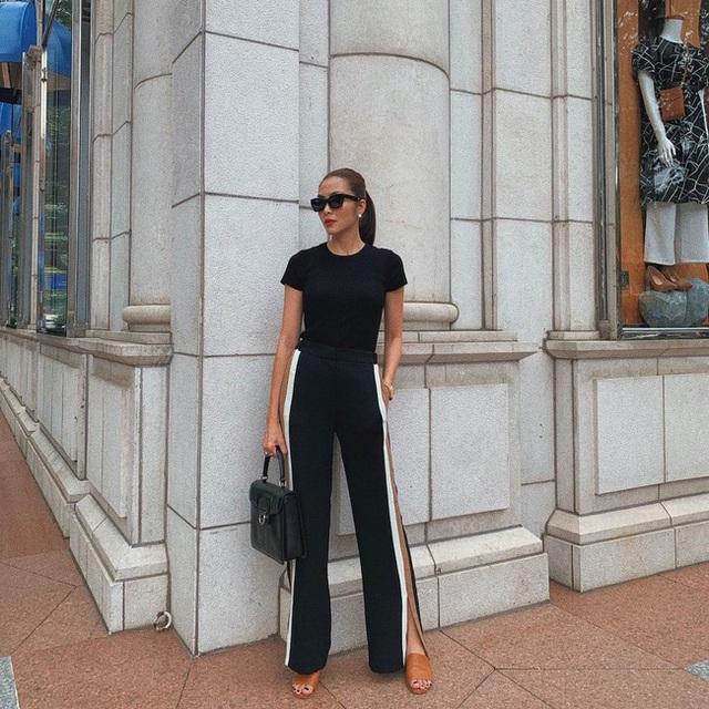 Hè này muốn mix quần đen không bị nhàm chán, nàng công sở hãy học Hà Tăng để thật sành điệu - Ảnh 8.