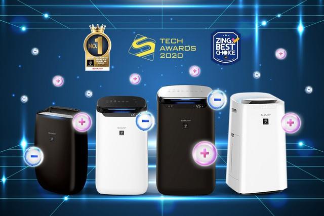 Đạt cú đúp giải thưởng cho máy lọc khí được yêu thích nhất, tại sao Sharp có thể chinh phục chuyên gia và người dùng? - Ảnh 2.