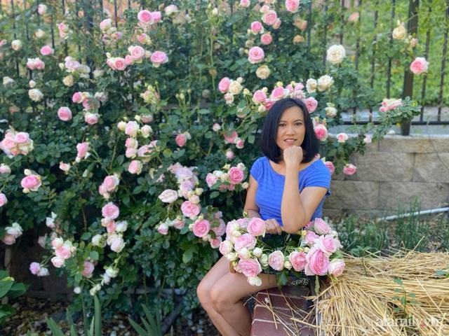 Khu vườn muôn hoa khoe sắc tỏa hương của mẹ Việt thức đêm chăm cây  - Ảnh 3.