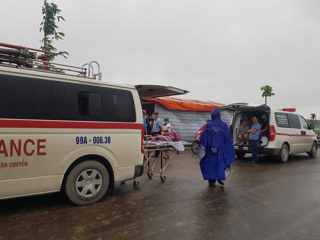 Tìm thấy thi thể 2 công nhân tử vong trong vụ sập giàn giáo công trình ở Bắc Ninh - Ảnh 6.