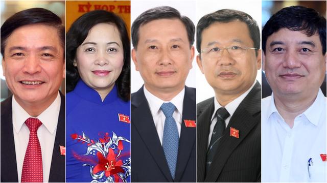 5 nhân sự được đề cử để bầu một số Ủy viên UBTVQH - Ảnh 2.