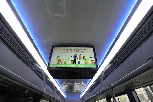 Vinbus chính thức vận hành xe buýt điện thông minh đầu tiên tại Việt Nam - Ảnh 3.