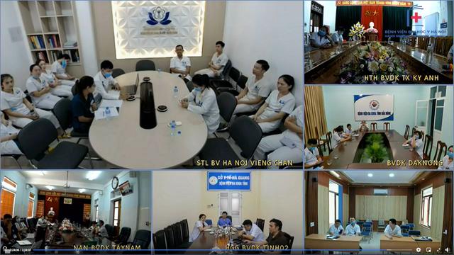 Từ Hà Nội, các bác sĩ hội chẩn cho người phụ nữ bị bệnh tim sống tại… Lào - Ảnh 2.
