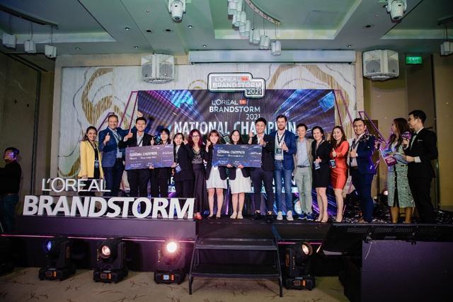 2 đội sinh viên xuất sắc của Việt Nam trong cuộc thi sáng tạo khởi nghiệp L'oreal Brandstomr mùa 2 được lựa chọn đi thi đấu quốc tế - Ảnh 2.