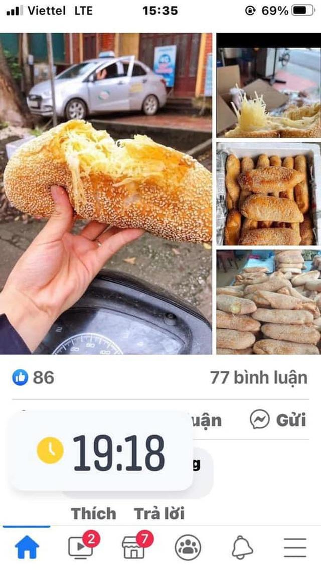 Đặt mua bánh mì siêu dừa, thành phẩm đến tay gây choáng váng: Lưa thưa vài hạt vừng, còn dừa tàng hình - Ảnh 1.