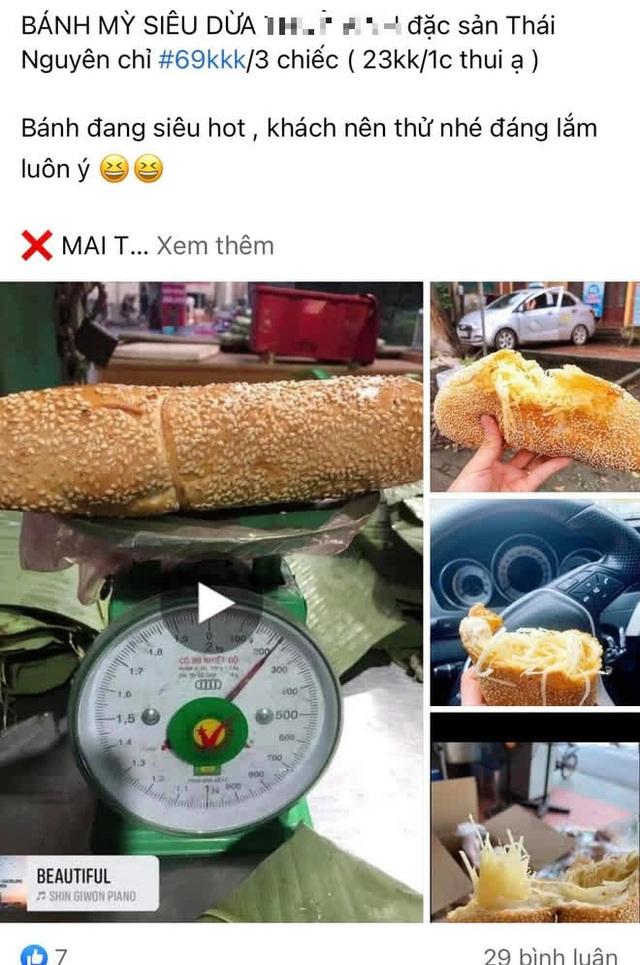 Đặt mua bánh mì siêu dừa, thành phẩm đến tay gây choáng váng: Lưa thưa vài hạt vừng, còn dừa tàng hình - Ảnh 5.