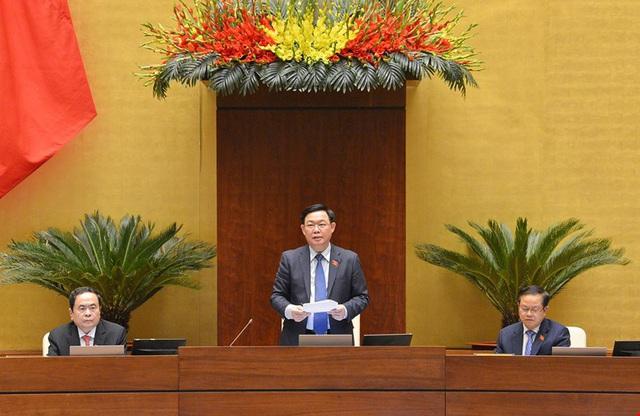 Chủ tịch Quốc hội Vương Đình Huệ: Kiện toàn nhân sự tại Kỳ họp này là bước chuyển giao quan trọng - Ảnh 2.