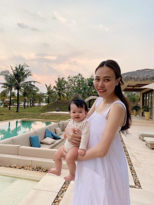 Cuộc sống bỉm sữa của Cường Đô La và Đàm Thu Trang: Từ tay chơi siêu xe có tiếng đến ông bố quần đùi, áo phông chăm con thay vợ - Ảnh 13.