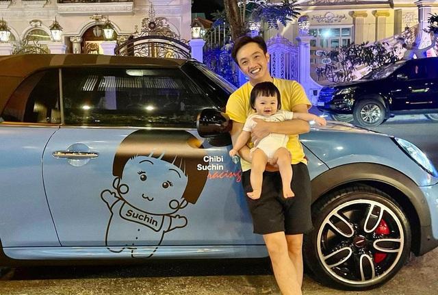 Cuộc sống bỉm sữa của Cường Đô La và Đàm Thu Trang: Từ tay chơi siêu xe có tiếng đến ông bố quần đùi, áo phông chăm con thay vợ - Ảnh 10.