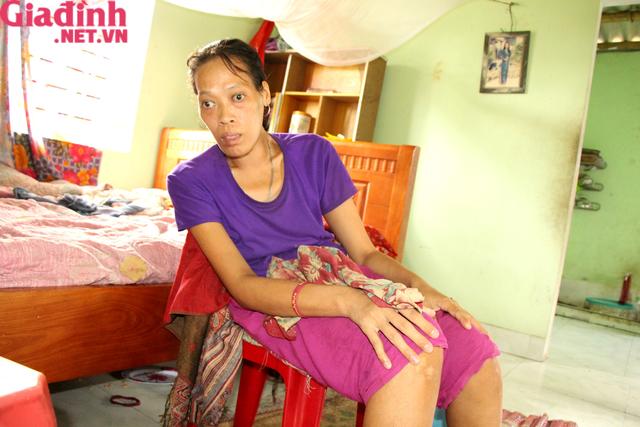 Nỗi đau và mong ước cháy bỏng người mẹ nghèo khuyết tật bị bệnh tật bủa vây nuôi con gái thiểu năng   - Ảnh 6.
