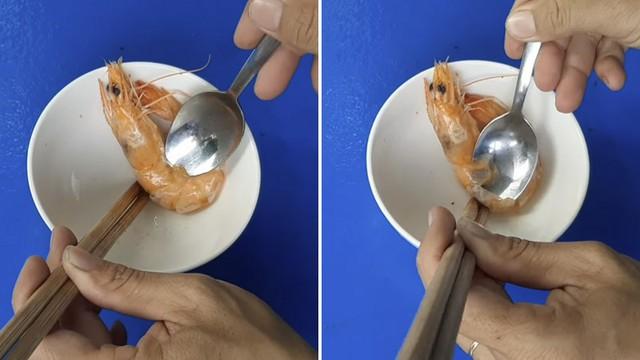 Đi ăn cỗ bóc vỏ tôm chín cách này sẽ không bị nóng hay bẩn tay mà còn được khen là khéo léo, duyên dáng - Ảnh 5.